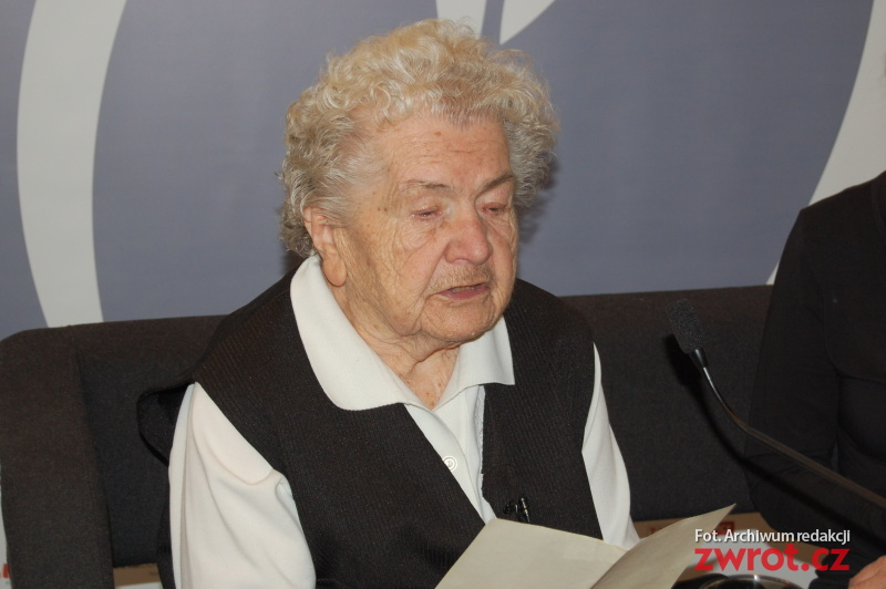 Aniela Kupiec slaví dnes devadesáté deváté narozeniny