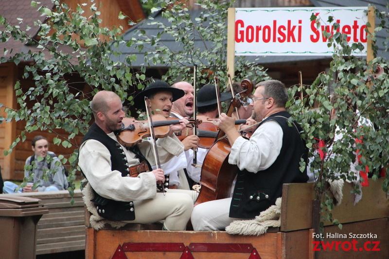 Gorole ovládli Jablunkov. Pátek vMěstském lese
