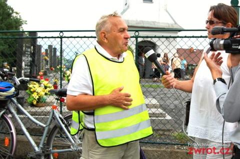 Cyklisti pamatují na oběti životické tragédie