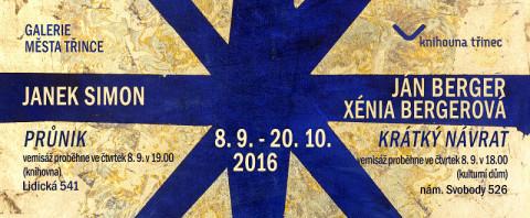 Pozvánka na dvě výstavy v Třinci