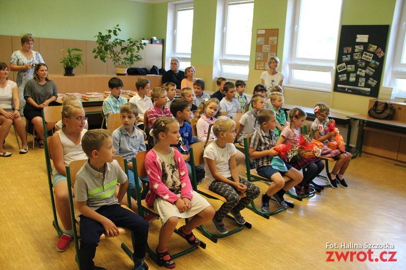 Začátek školního roku vmalé škole