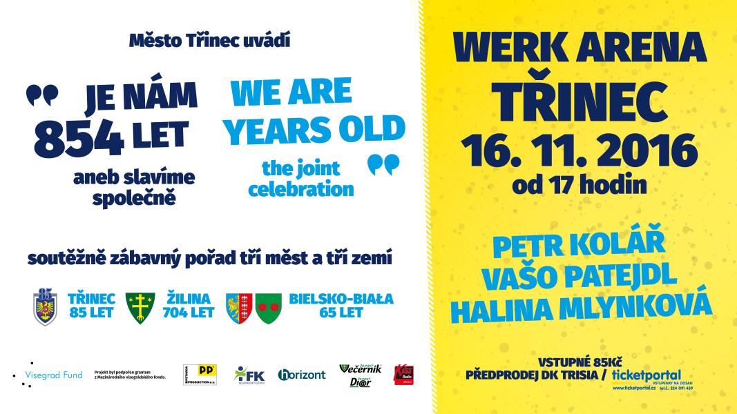 Třinec, Bielsko-Biała a Žilina společně slaví