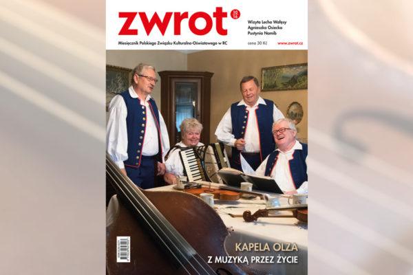 """Nové číslo """"Zwrotu"""" s kapelou Olza na titulní straně"""
