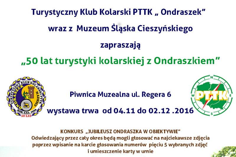 """Těšínští kolaři zklubu """"Ondraszek"""" slaví padesátiny"""