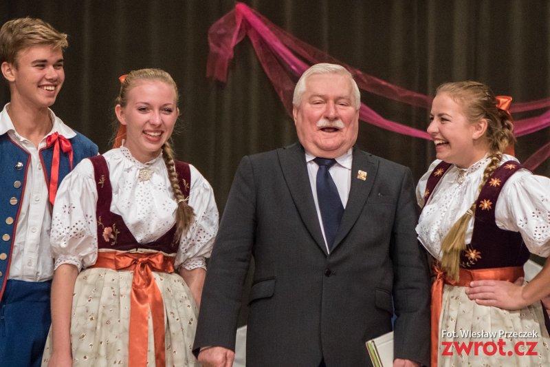 Návštěva Lecha Wałęsy