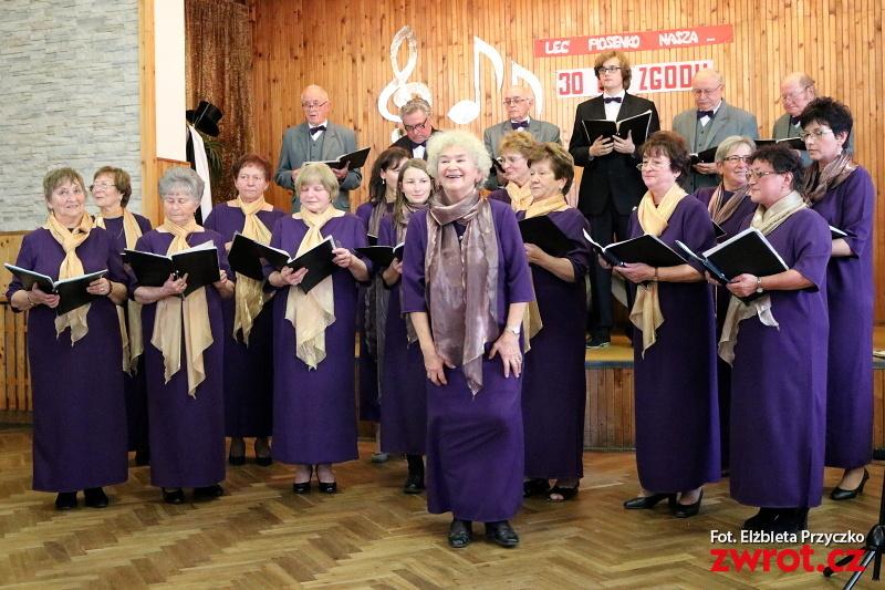 Sbor Zgoda 30 let oslavil zpěvem