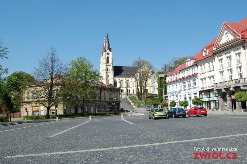Slavnostní mše v kostele v Orlové