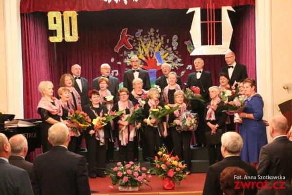90 let Smíšeného pěveckého sboru Hasło