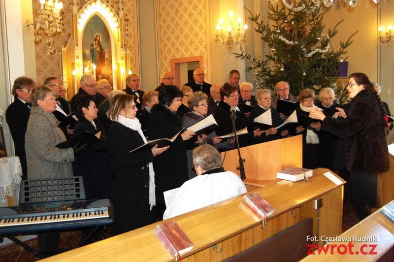 Adventní atmosféra na koncertě ve Stonavě
