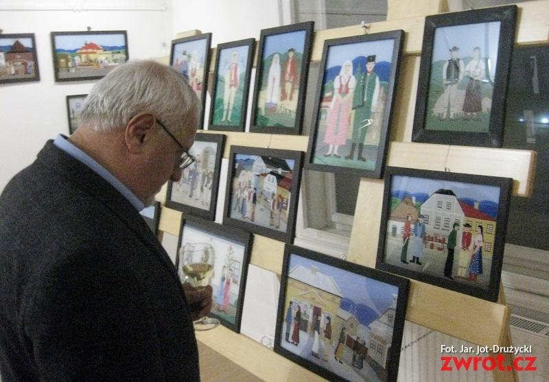 Jablunkov malovaný na skle