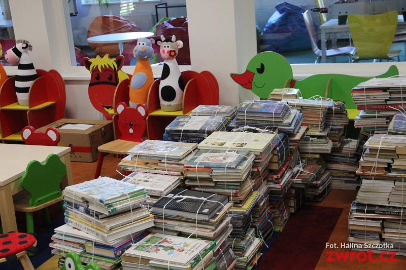 Sbírka pro děti z dětského domova v knihovně