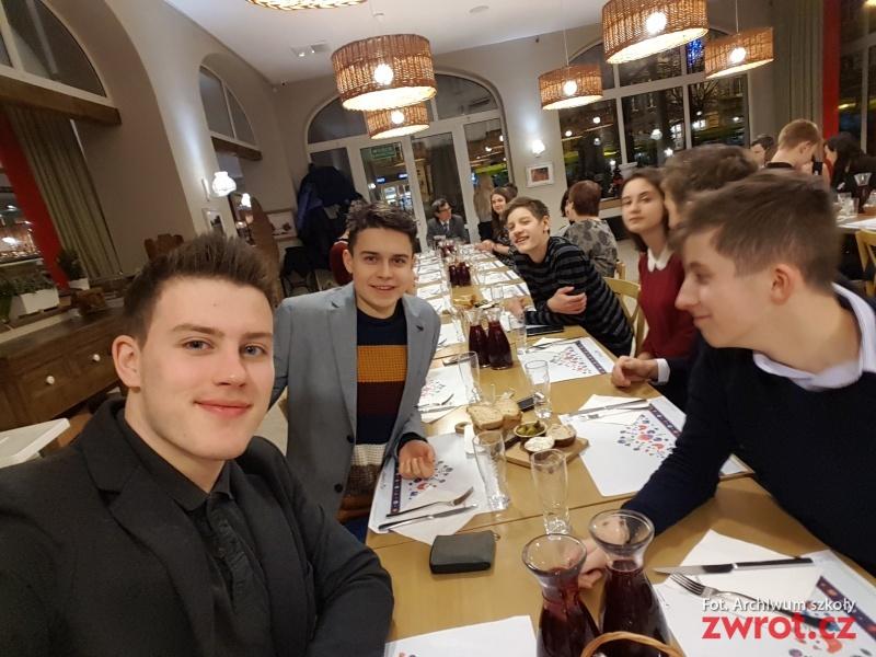 Studenti gymnázia byli v Poznani