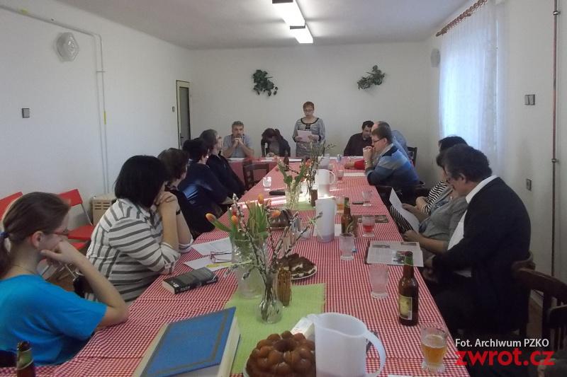 Členská schůze v Chotěbuzi