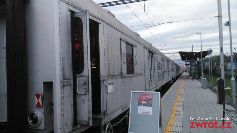 Protidrogový Revolution Train míří podruhé do Havířova