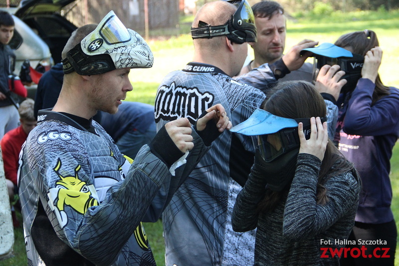 Integrace s paintballem