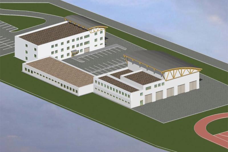 Začalo se stavět Integrované výjezdové centrum v Českém Těšíně