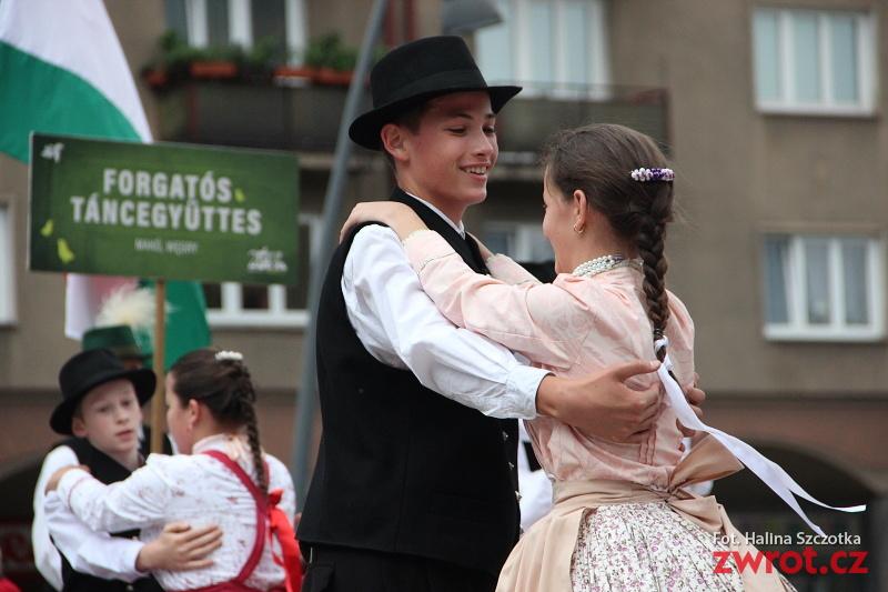 Małe Oldrzychowice přivezly do Třince maďarské přátelé