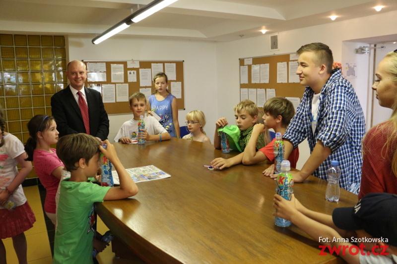 Táborníci navštívili konzula