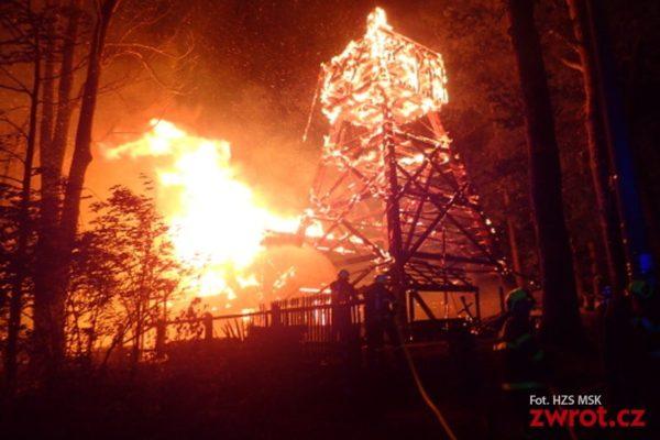 Cenný dřevěný kostelík vGutech lehl popelem
