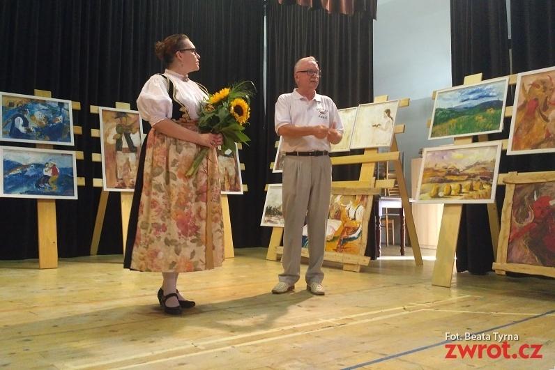 Vernisáž výstavy Agnieszki Pawlitko