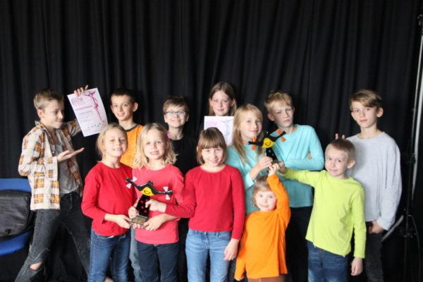 Dětské divadlo zNebor přivezlo stříbrný Pohár smíchu