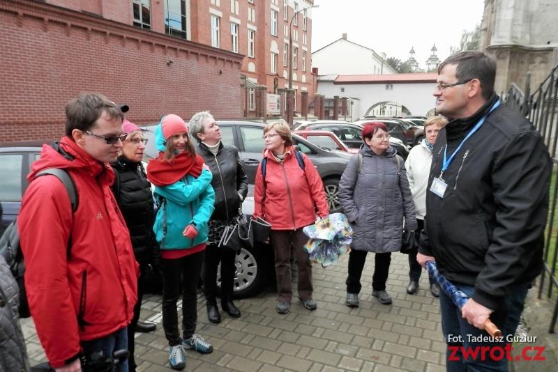Členové PZKO ze Skřečoně v Krakově