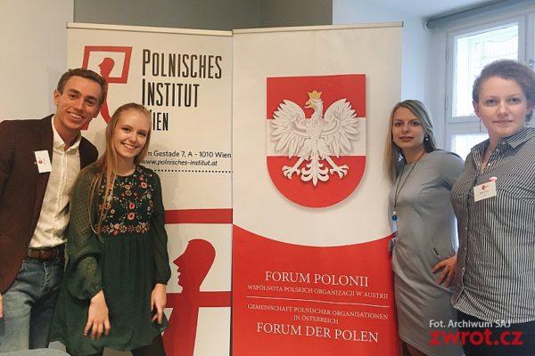 Členové SAJ na fóru ve Vídni