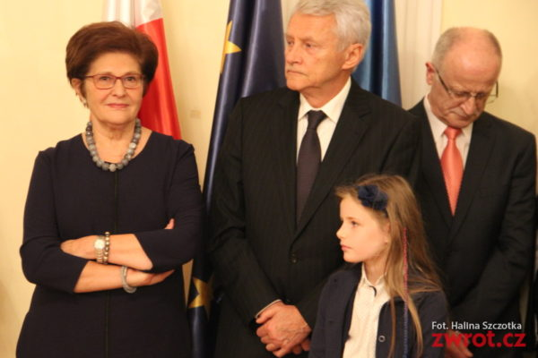 Velvyslankyně Grażyna Bernatowicz se rozloučila