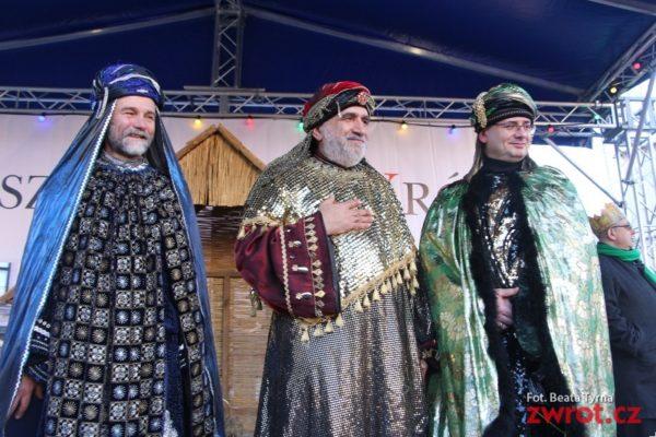 Průvod Tří králů v Cieszynie