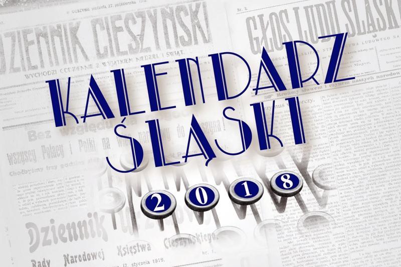 Kalendarz Śląski 2018 je v prodeji