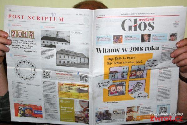 Polský regionální tisk v novém roce