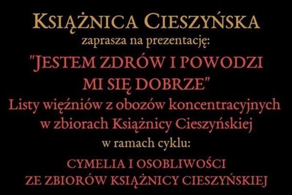 V Książnicy se zaměří na dopisy z německých koncentračních táborů