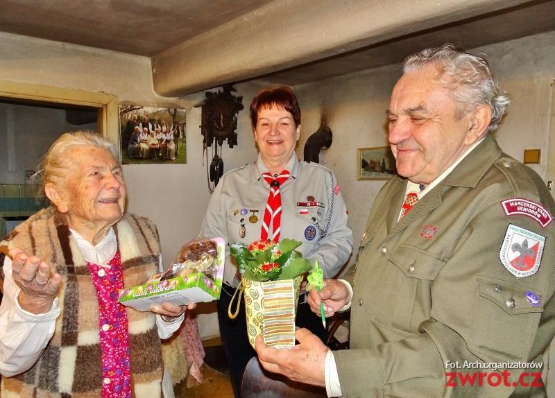 Krásných 98 let Anieli Kupiec