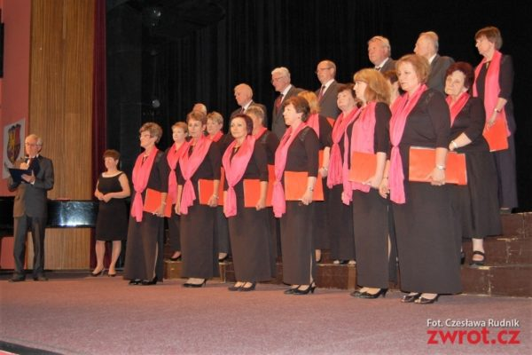 Zástupci polské písně v Orlové