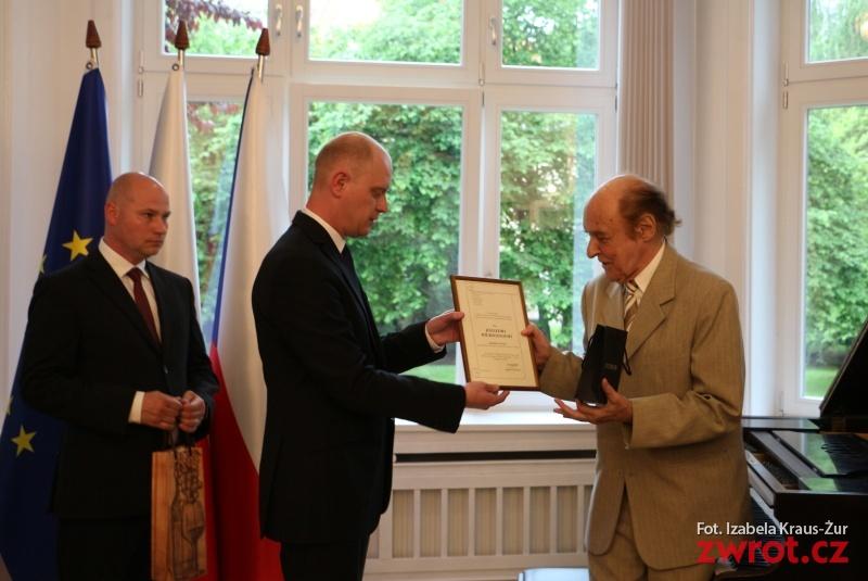 Józef Wierzgoń dostal cenu