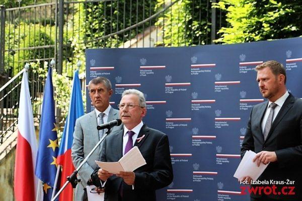 Slavnost v polské ambasádě