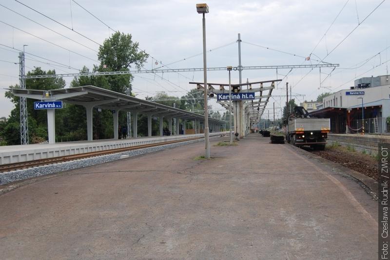 Třetí nástupiště je skoro hotové