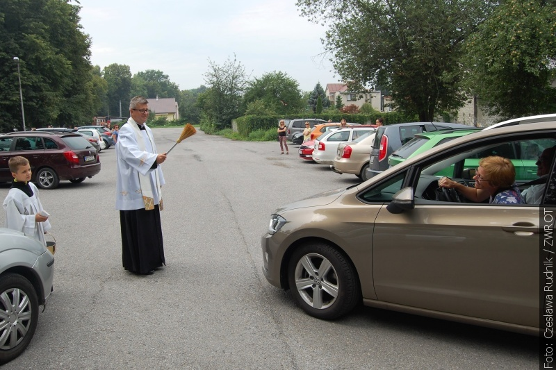 Se sv. Kryštofem za zády