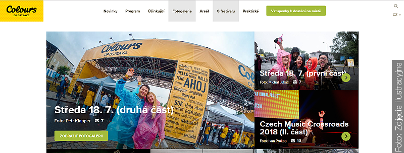 Odstartoval festival Colours of Ostrava