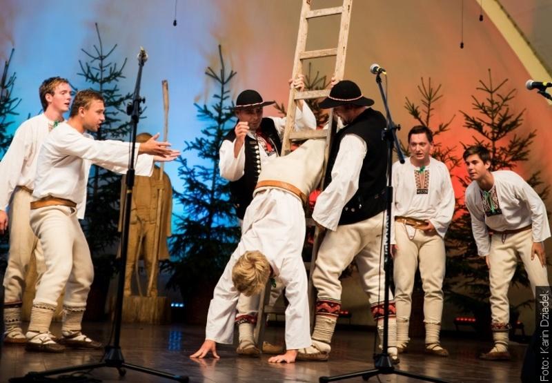 Soubor Bystrzyca vystoupil na Týdnu beskydské kultury