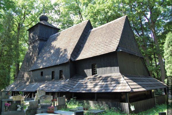 Kostel v Gutech na výstavě