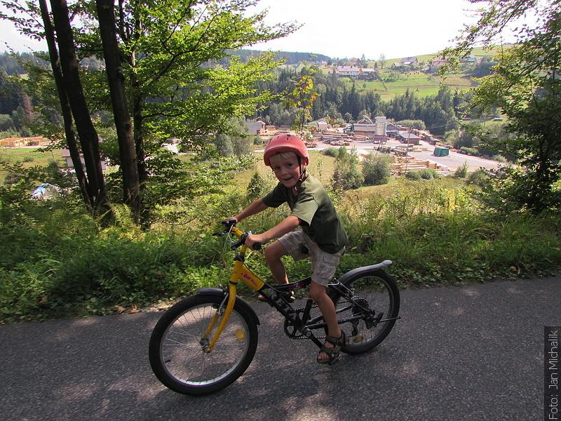 Cyklistický výlet k pramenům Olzy