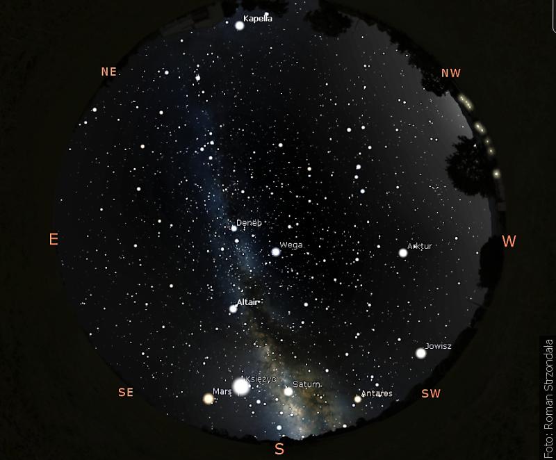 """""""Zwrot"""" astronomicky: Letní trojúhelník"""
