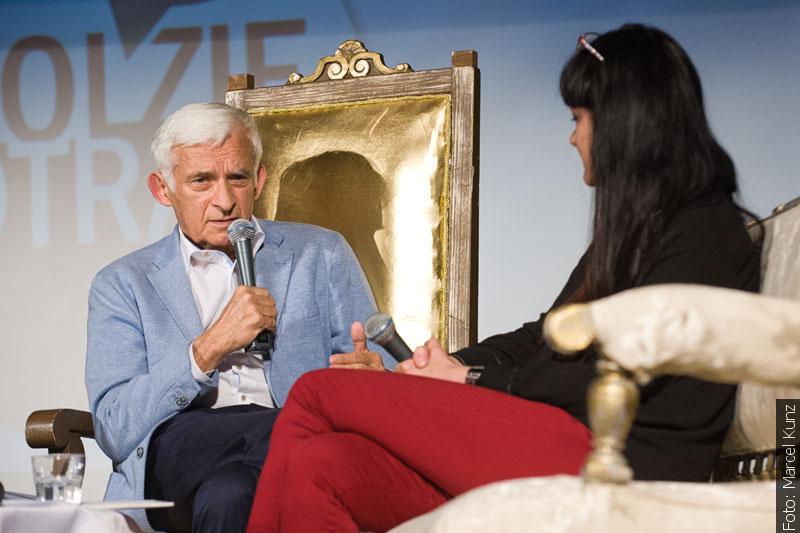 Jerzy Buzek na Střelnici