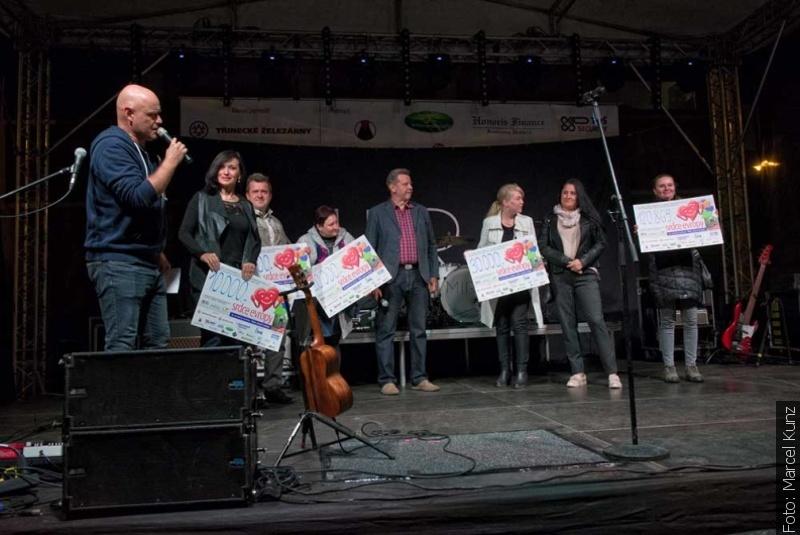 Koncert podpořili děti se zdravotním postižením