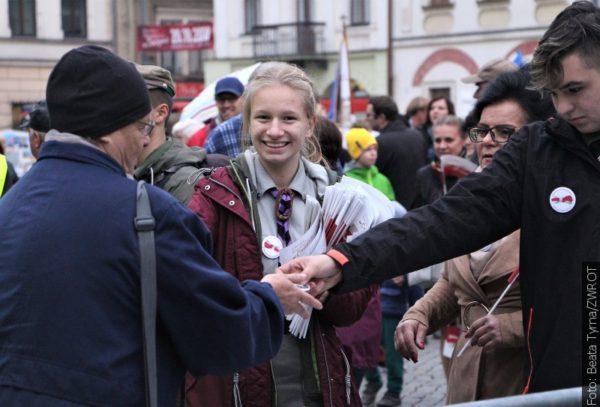 100 let nezávislosti na Těšínském náměstí