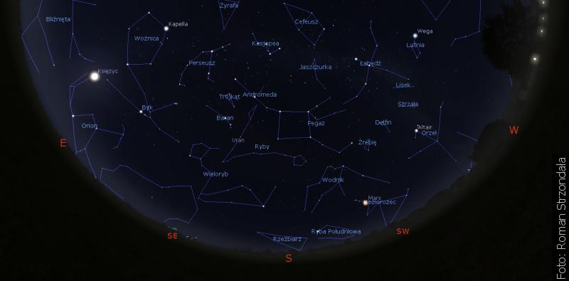 """""""Zwrot"""" astronomicky: Podzimní nebe"""