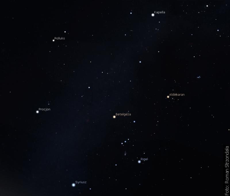 Zwrot astronomicky: Zimní obloha