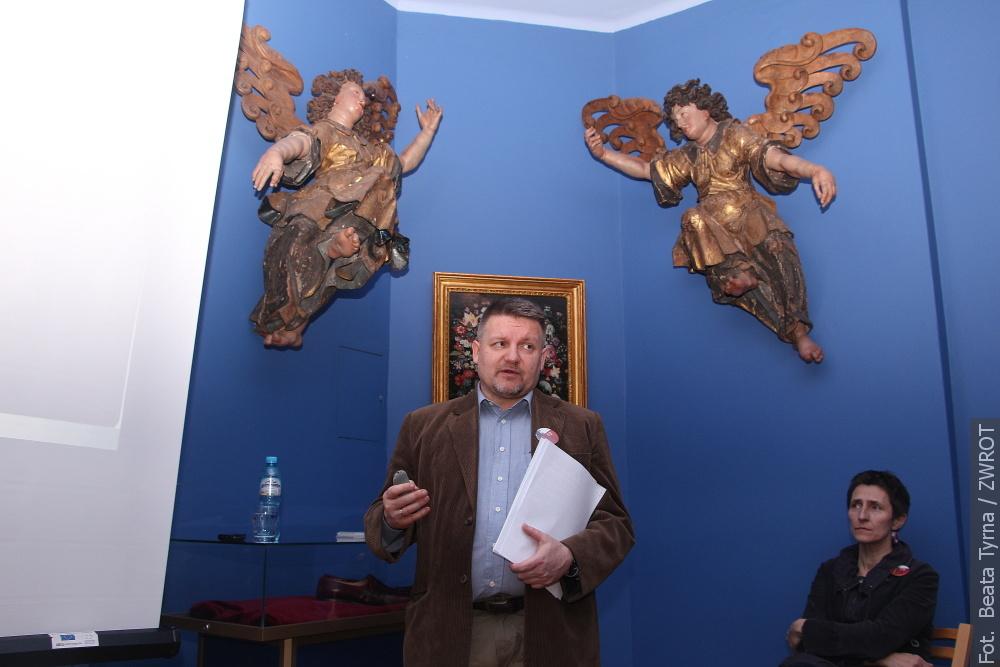 Daniel Korbel vyprávěl vCieszyně o válce o Těšínské Slezsko