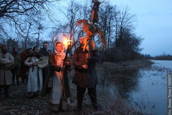 V Białogrodu vyháněli zimu podle starodávného slovanského zvyku